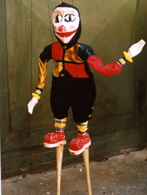 Marionette Puppets in Prague
